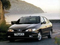 Renault Megane, 1 поколение, Classic седан, 1995–1999