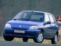 Renault Lutecia, 1 поколение [рестайлинг], Хетчбэк 5-дв., 1996–1998