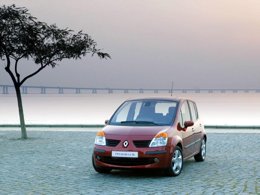 Renault Modus минивэн, 2004–2007, 1 поколение - отзывы, фото и характеристики на Car.ru