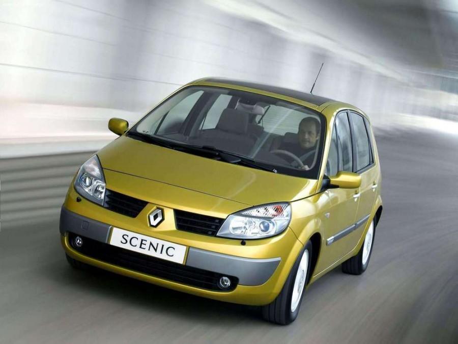 Renault Scenic минивэн 5-дв., 2003–2006, 2 поколение - отзывы, фото и характеристики на Car.ru