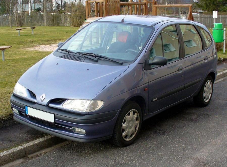 Renault Scenic минивэн, 1996–1999, 1 поколение - отзывы, фото и характеристики на Car.ru