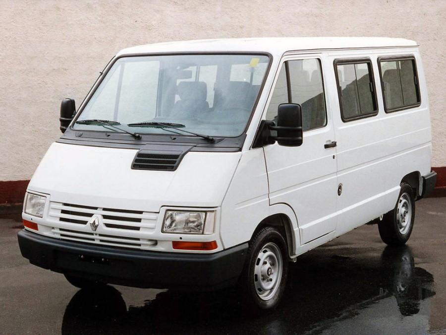 Renault Trafic микроавтобус, 1997–2002, 1 поколение [2-й рестайлинг] - отзывы, фото и характеристики на Car.ru