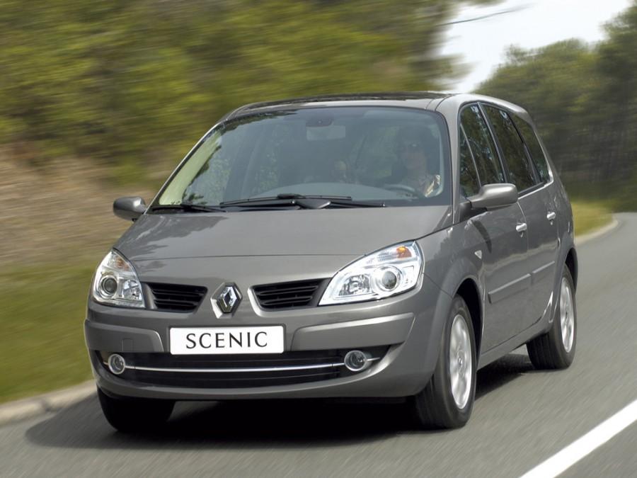 Renault Scenic минивэн 5-дв., 2006–2010, 2 поколение [рестайлинг] - отзывы, фото и характеристики на Car.ru