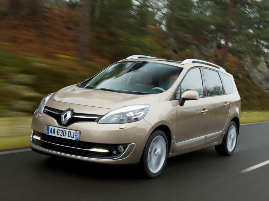 Renault Scenic Grand минивэн 5-дв., 2013–2015, 3 поколение [2-й рестайлинг] - отзывы, фото и характеристики на Car.ru