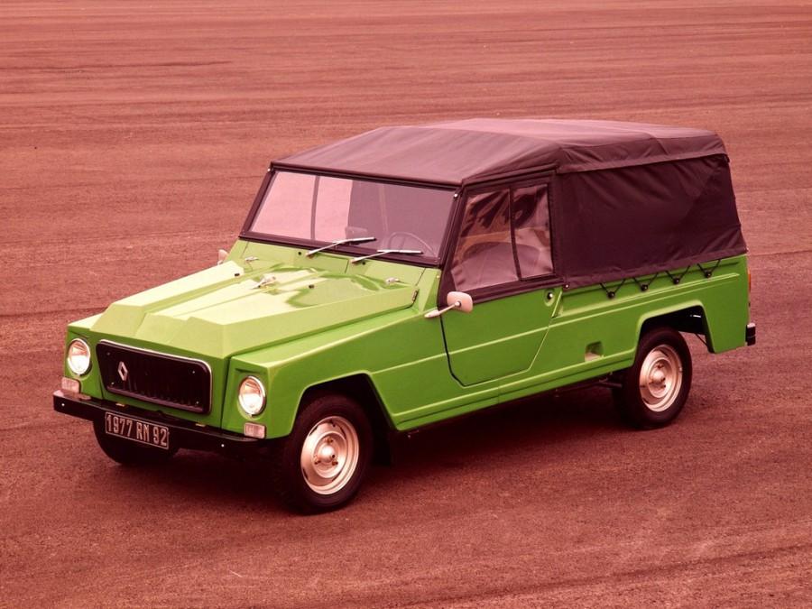 Renault Rodeo кабриолет, 1970–1981, 4 Rodeo - отзывы, фото и характеристики на Car.ru