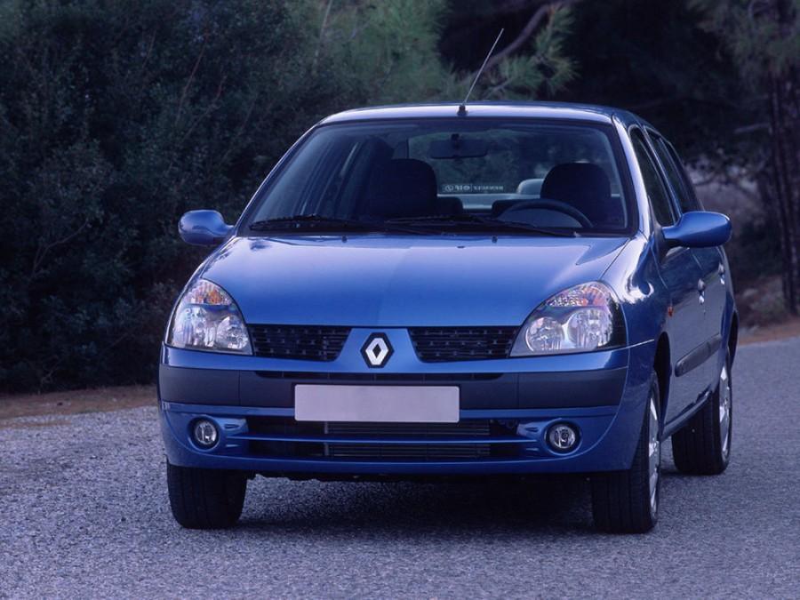 Renault Symbol седан, 2002–2005, 1 поколение [рестайлинг] - отзывы, фото и характеристики на Car.ru