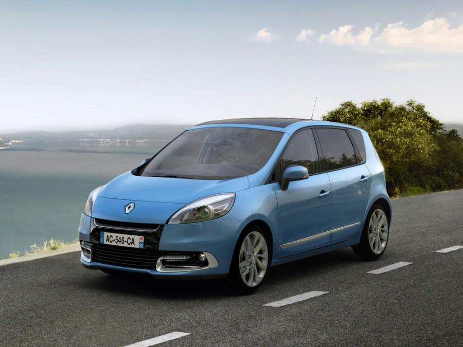 Renault Scenic минивэн, 2012–2013, 3 поколение [рестайлинг] - отзывы, фото и характеристики на Car.ru