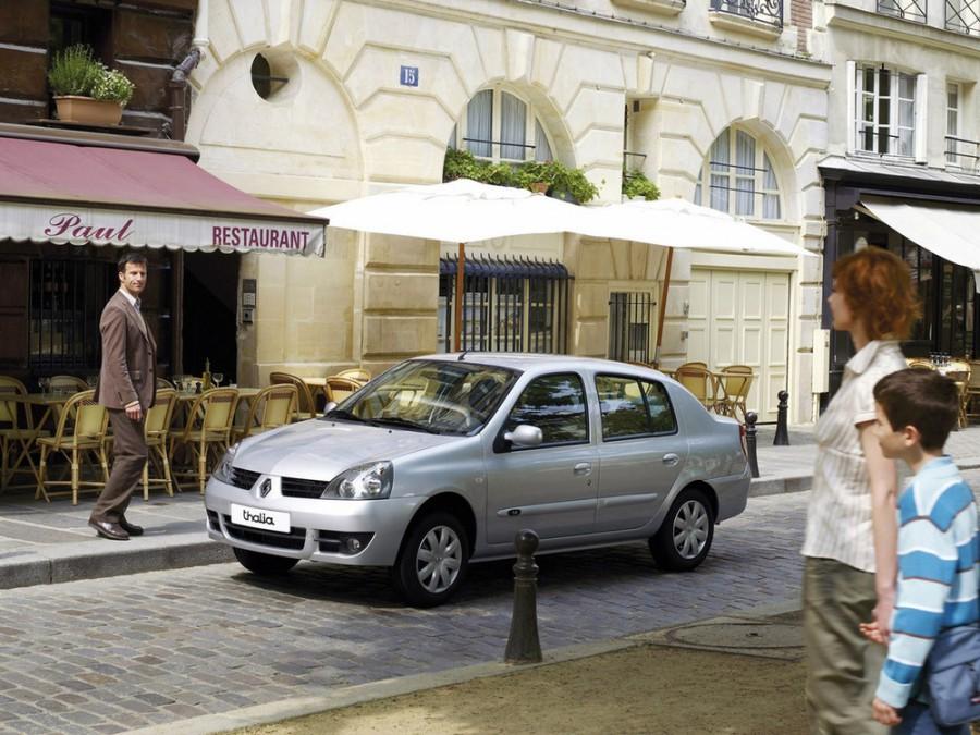 Renault Thalia седан, 2006–2008, 1 поколение [2-й рестайлинг] - отзывы, фото и характеристики на Car.ru