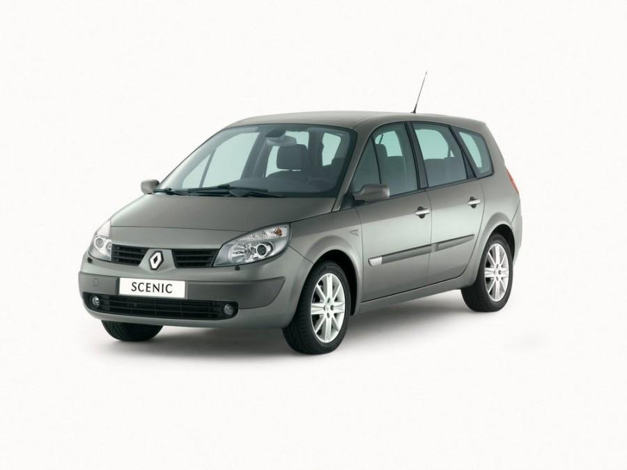 Renault Scenic Grand минивэн 5-дв., 2003–2006, 2 поколение - отзывы, фото и характеристики на Car.ru
