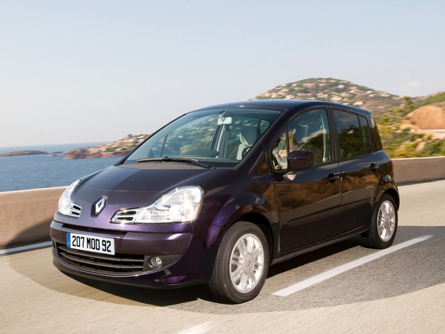 Renault Modus минивэн 5-дв., 2007–2012, 2 поколение - отзывы, фото и характеристики на Car.ru