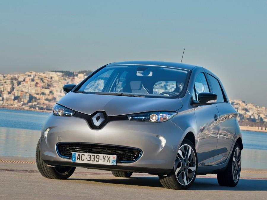 Renault ZOE хетчбэк, 2012–2016, 1 поколение - отзывы, фото и характеристики на Car.ru