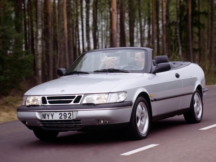 Saab 900 кабриолет, 1993–1998, 2 поколение - отзывы, фото и характеристики на Car.ru