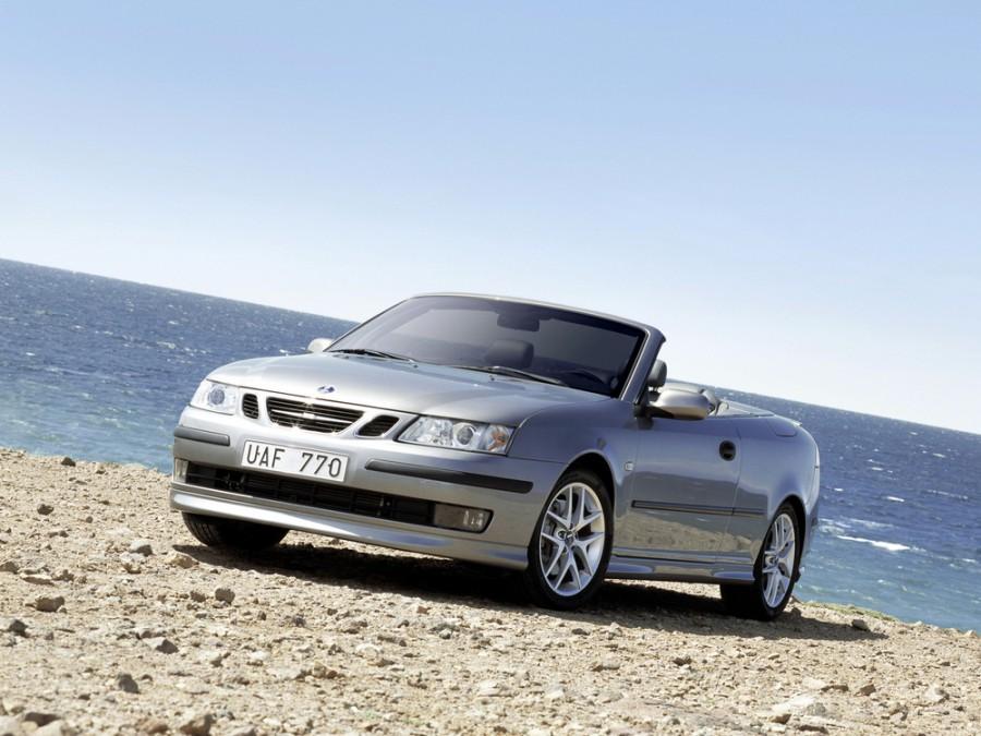 Saab 9-3 кабриолет, 2002–2007, 2 поколение - отзывы, фото и характеристики на Car.ru