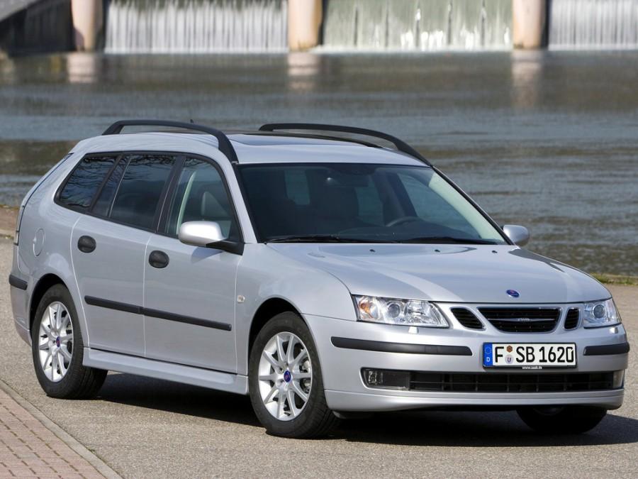 Saab 9-3 универсал, 2002–2007, 2 поколение - отзывы, фото и характеристики на Car.ru