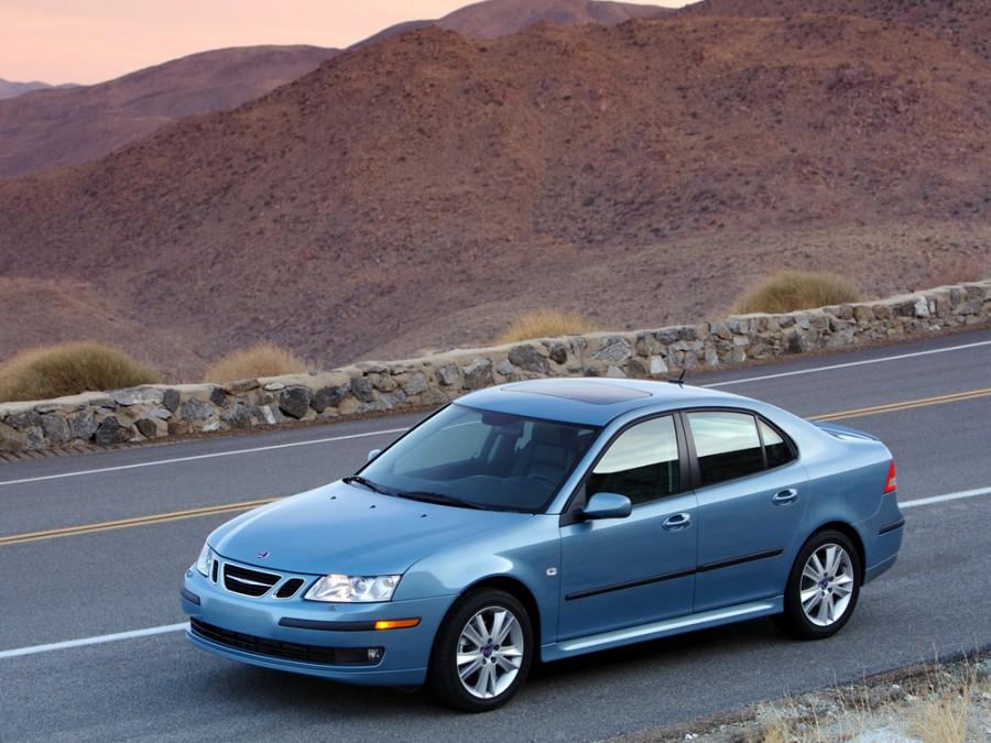 Saab 9-3 седан, 2002–2007, 2 поколение - отзывы, фото и характеристики на Car.ru