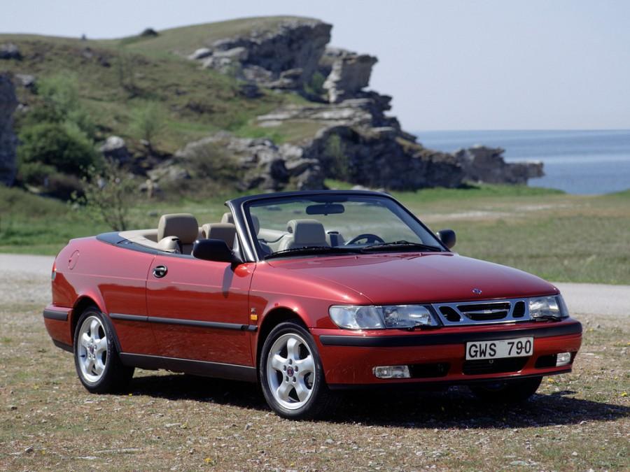 Saab 9-3 кабриолет, 1998–2002, 1 поколение - отзывы, фото и характеристики на Car.ru