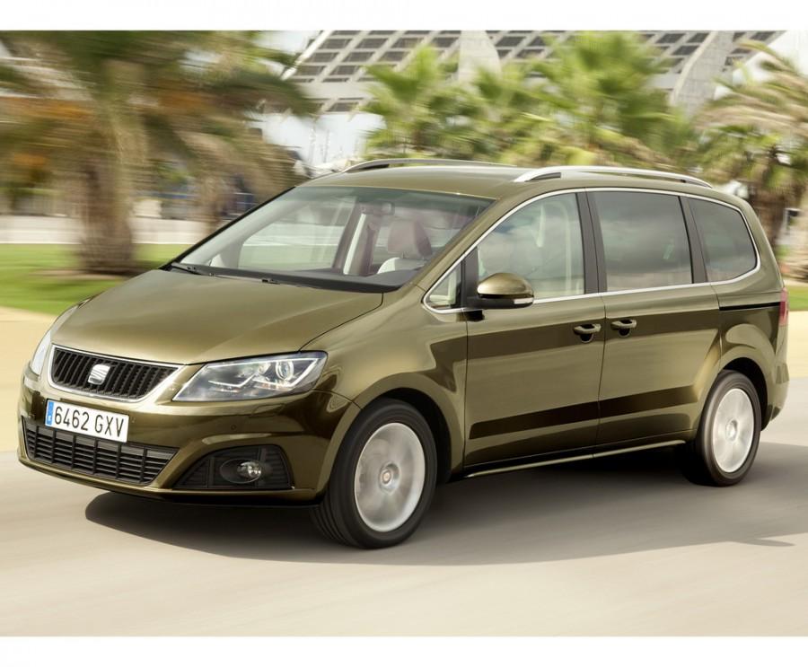 Seat Alhambra минивэн, 2010–2014, 2 поколение - отзывы, фото и характеристики на Car.ru
