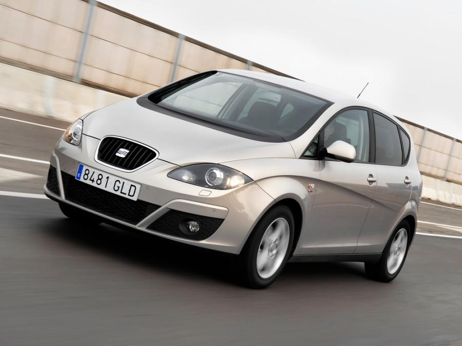 Seat Altea минивэн 5-дв., 2009–2014, 1 поколение [рестайлинг] - отзывы, фото и характеристики на Car.ru