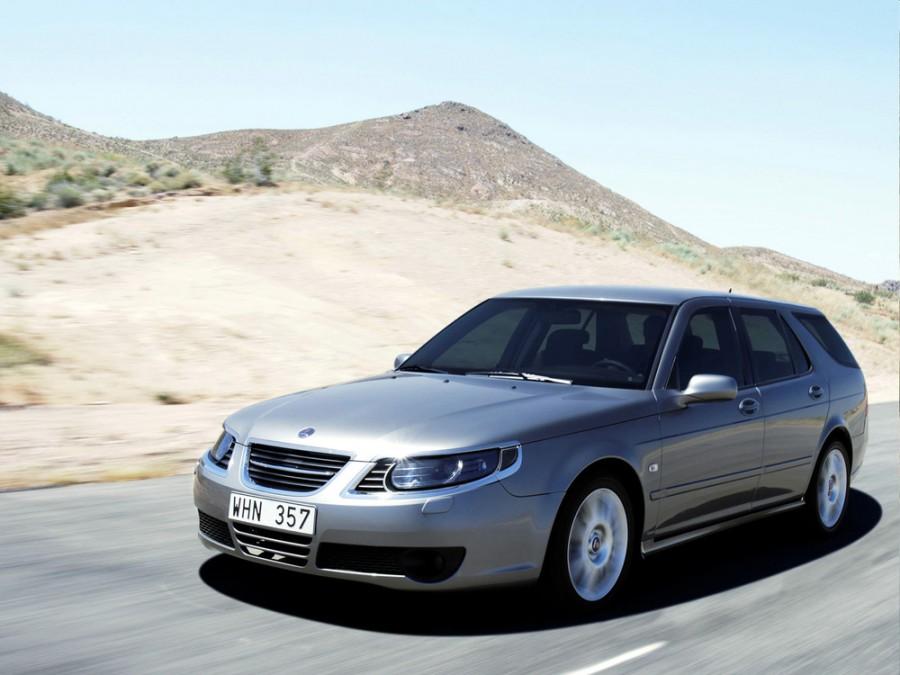 Saab 9-5 универсал, 2005–2010, 1 поколение [рестайлинг] - отзывы, фото и характеристики на Car.ru
