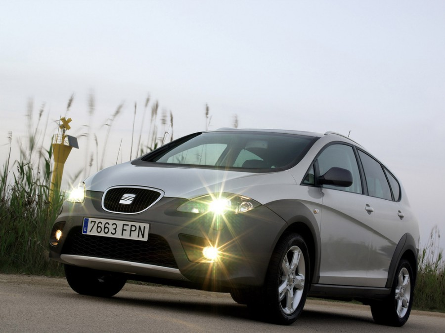 Seat Altea Freetrack кроссовер, 2004–2009, 1 поколение - отзывы, фото и характеристики на Car.ru