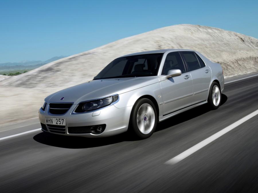 Saab 9-5 седан, 2005–2010, 1 поколение [рестайлинг], 2.3 MT (220 л.с.), характеристики