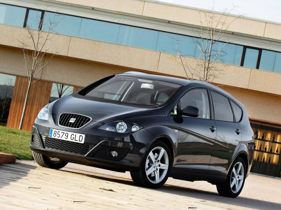 Seat Altea XL минивэн 5-дв., 2009–2014, 1 поколение [рестайлинг] - отзывы, фото и характеристики на Car.ru