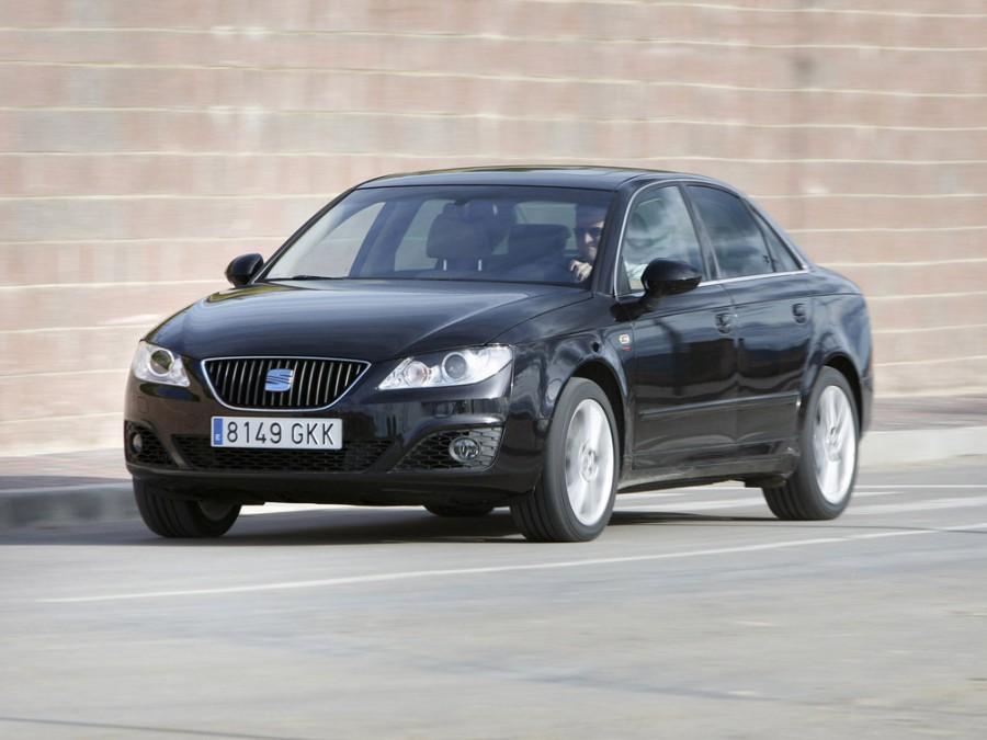 Seat Exeo седан, 2009–2012, 1 поколение - отзывы, фото и характеристики на Car.ru