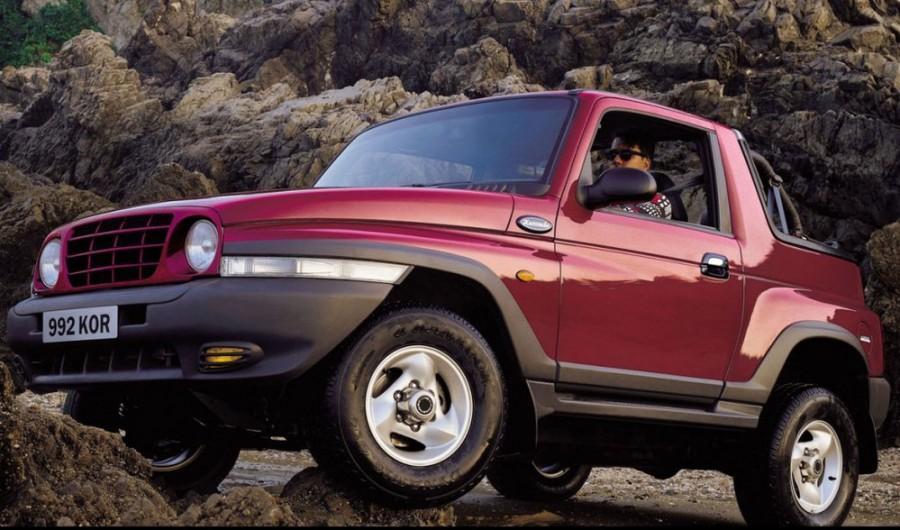 Ssangyong Korando Soft Top внедорожник 2-дв., 1997–2006, 2 поколение, 2.9 D MT AWD (95 л.с.), характеристики