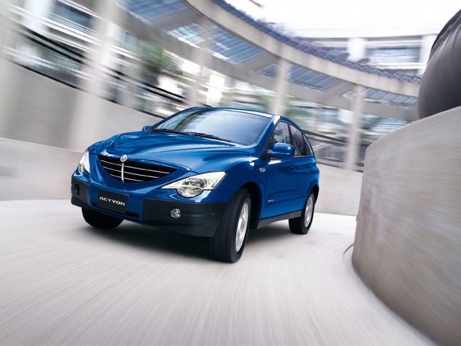 Ssangyong Actyon кроссовер, 2005–2012, 1 поколение - отзывы, фото и характеристики на Car.ru
