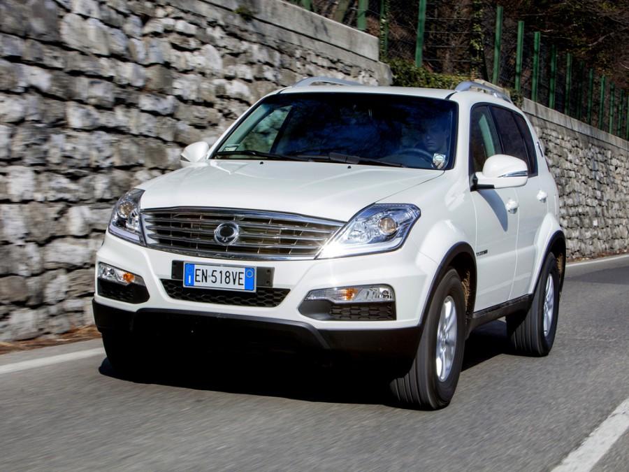 Ssangyong Rexton W внедорожник, 2012–2015, 3 поколение - отзывы, фото и характеристики на Car.ru
