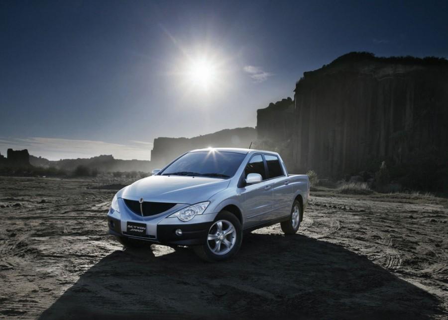 Ssangyong Actyon Sports пикап, 2005–2012, 1 поколение - отзывы, фото и характеристики на Car.ru