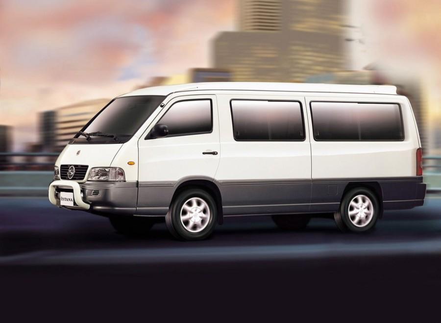 Ssangyong Istana микроавтобус, 1995–2003, 1 поколение - отзывы, фото и характеристики на Car.ru