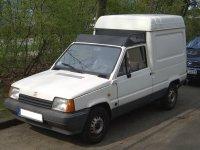 Seat Marbella, 1 поколение, Фургон, 1986–1996