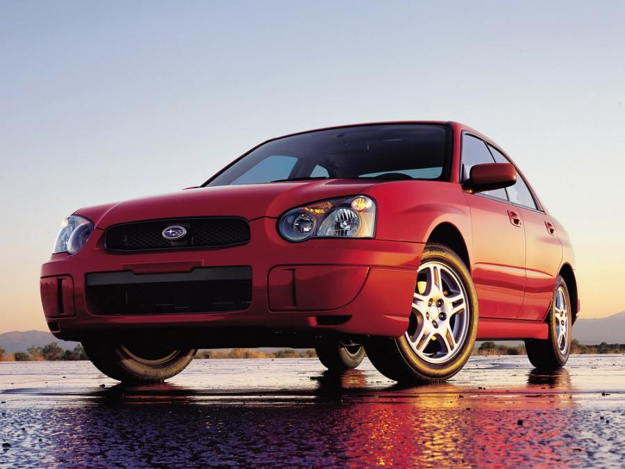 Subaru Impreza седан, 2002–2007, 2 поколение [рестайлинг] - отзывы, фото и характеристики на Car.ru