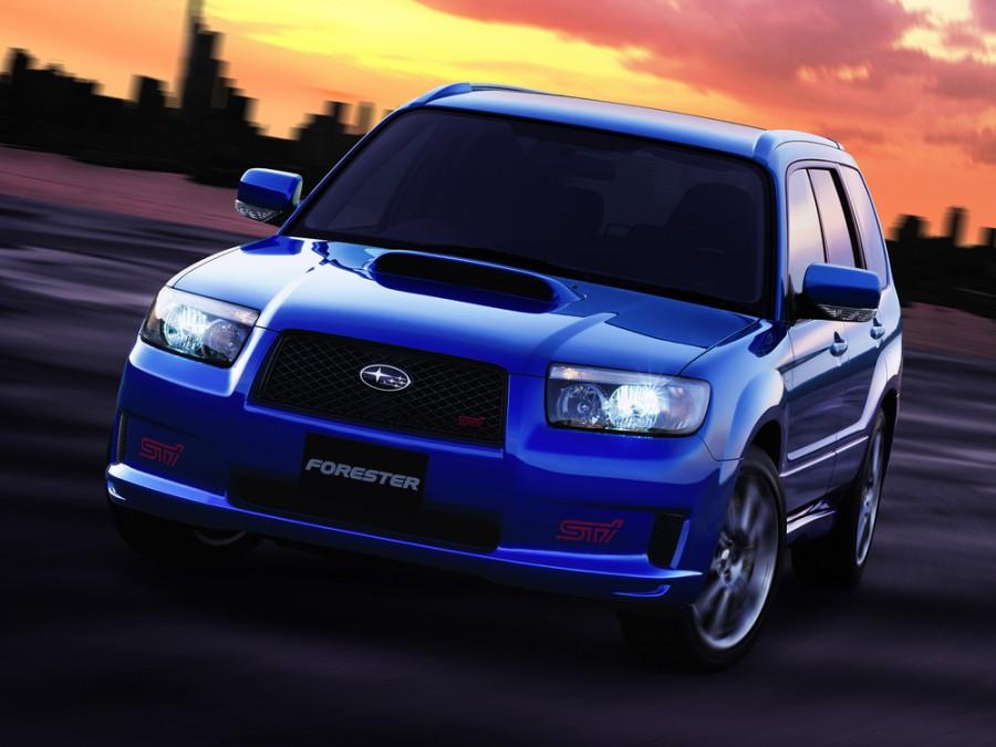 Subaru Forester STi кроссовер 5-дв., 2005–2008, 2 поколение [рестайлинг] - отзывы, фото и характеристики на Car.ru