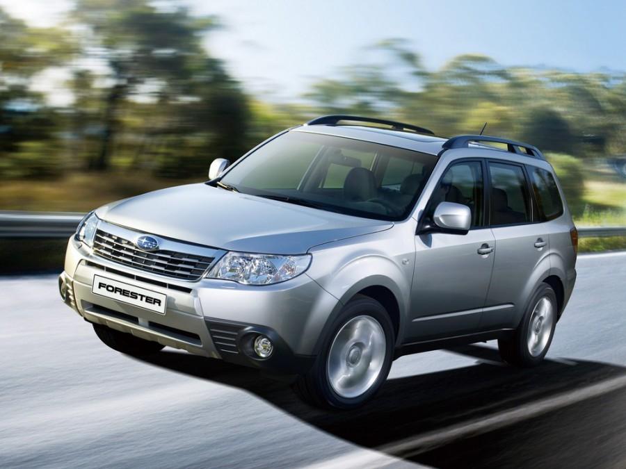 Subaru Forester кроссовер, 2008–2011, 3 поколение - отзывы, фото и характеристики на Car.ru