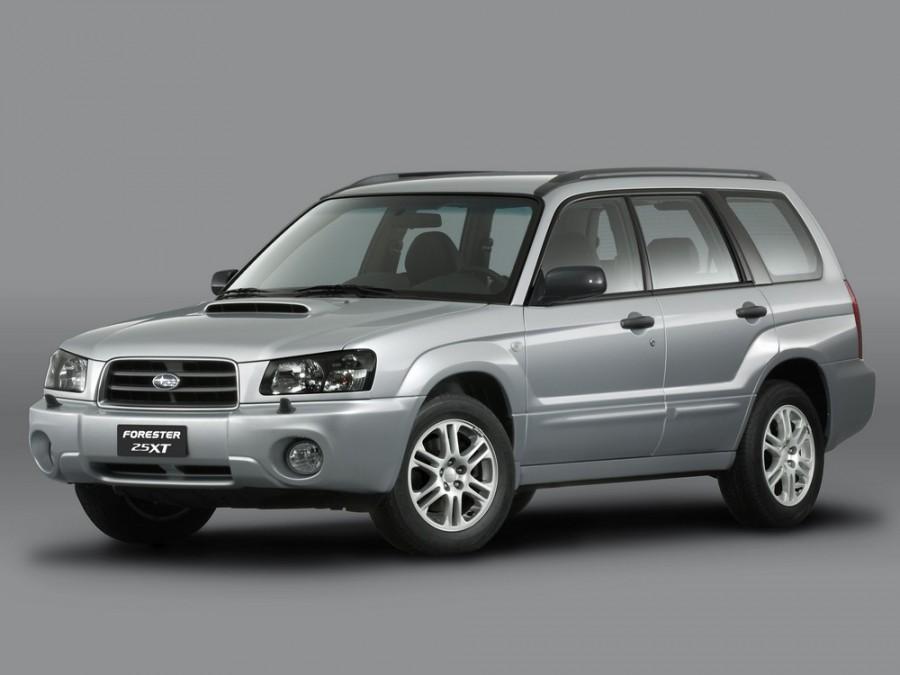 Subaru Forester кроссовер, 2003–2005, 2 поколение - отзывы, фото и характеристики на Car.ru