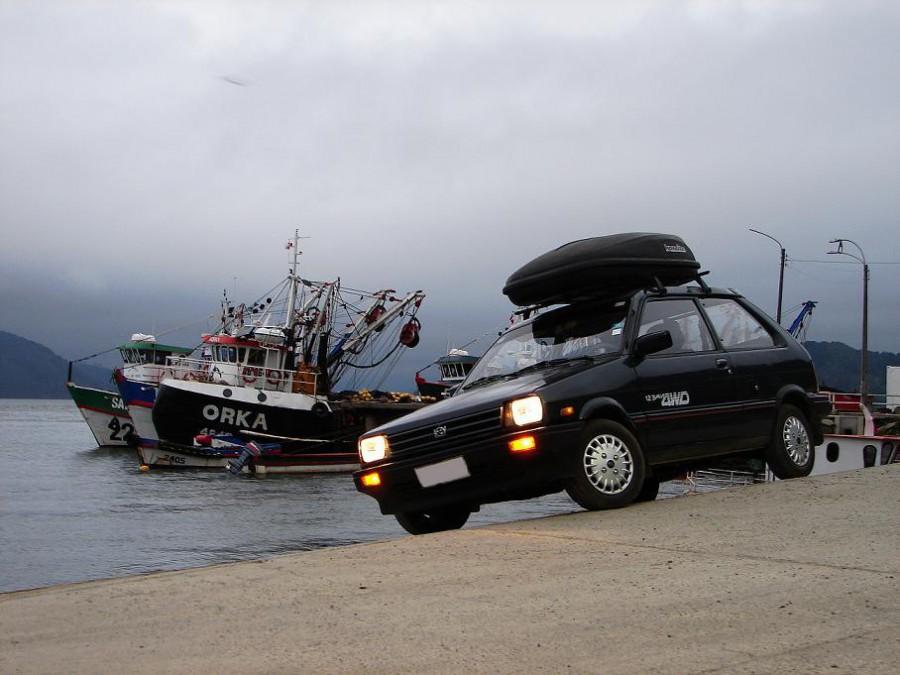 Subaru Justy хетчбэк 3-дв., 1984–1989, 1 (KAD) - отзывы, фото и характеристики на Car.ru