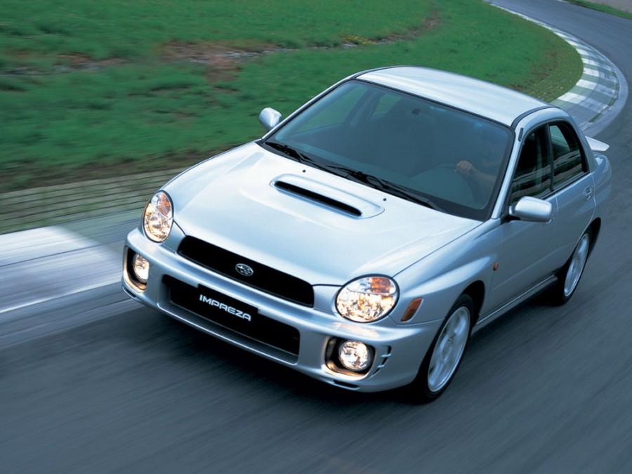 Subaru Impreza WRX седан, 2000–2002, 2 поколение - отзывы, фото и характеристики на Car.ru