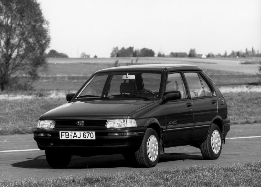 Subaru Justy хетчбэк, 1989–1994, 1 (KAD) [рестайлинг] - отзывы, фото и характеристики на Car.ru