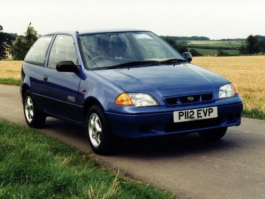 Subaru Justy хетчбэк 3-дв., 1994–2003, 2 (JMA - отзывы, фото и характеристики на Car.ru