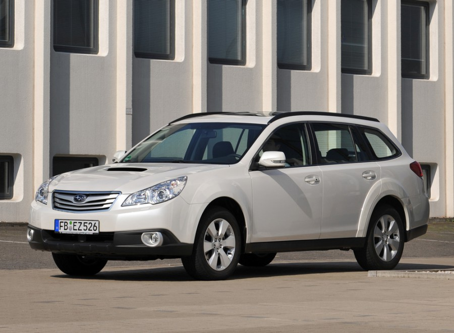 Subaru Outback универсал, 2009–2012, 4 поколение - отзывы, фото и характеристики на Car.ru