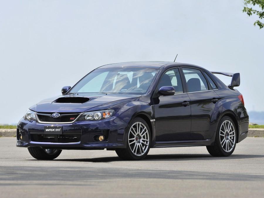 Subaru Impreza WRX STI седан 4-дв., 2010–2013, 3 поколение [рестайлинг] - отзывы, фото и характеристики на Car.ru