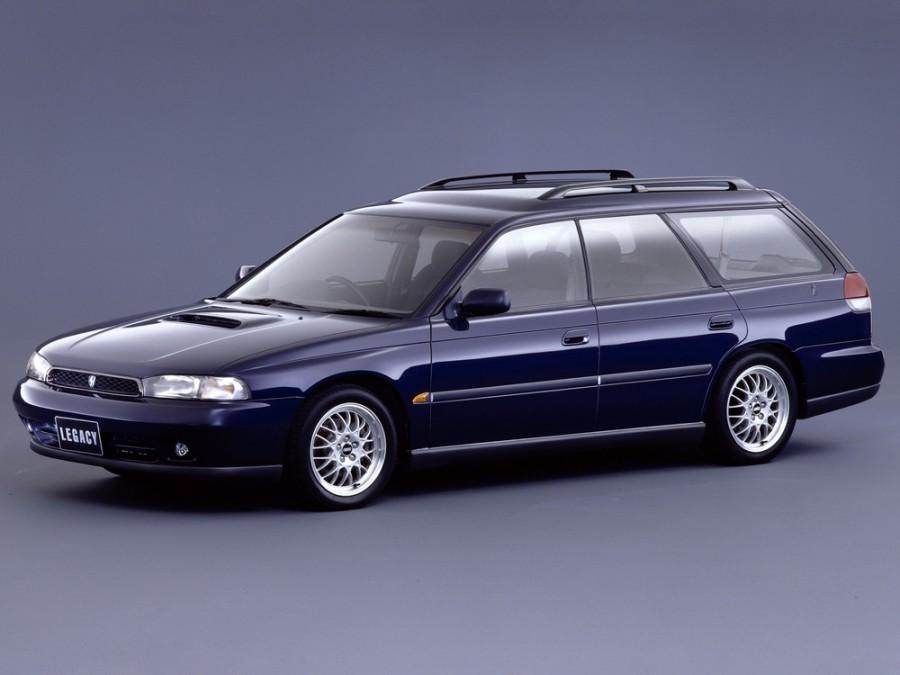 Subaru Legacy универсал, 1994–1999, 2 поколение - отзывы, фото и характеристики на Car.ru