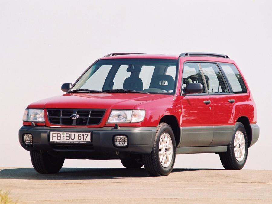 Subaru Forester кроссовер, 1997–2000, 1 поколение - отзывы, фото и характеристики на Car.ru