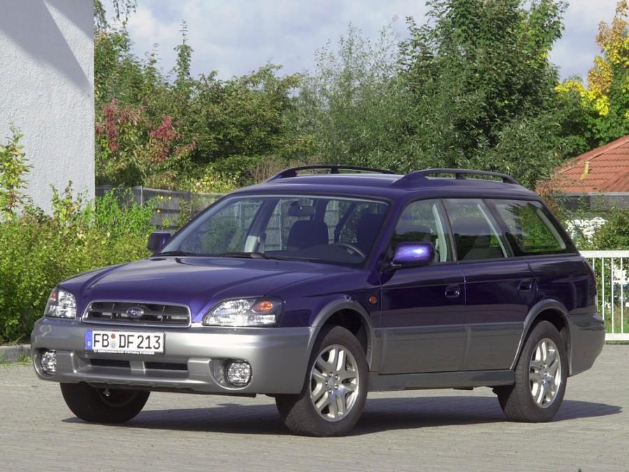 Subaru Outback универсал, 1999–2003, 2 поколение - отзывы, фото и характеристики на Car.ru