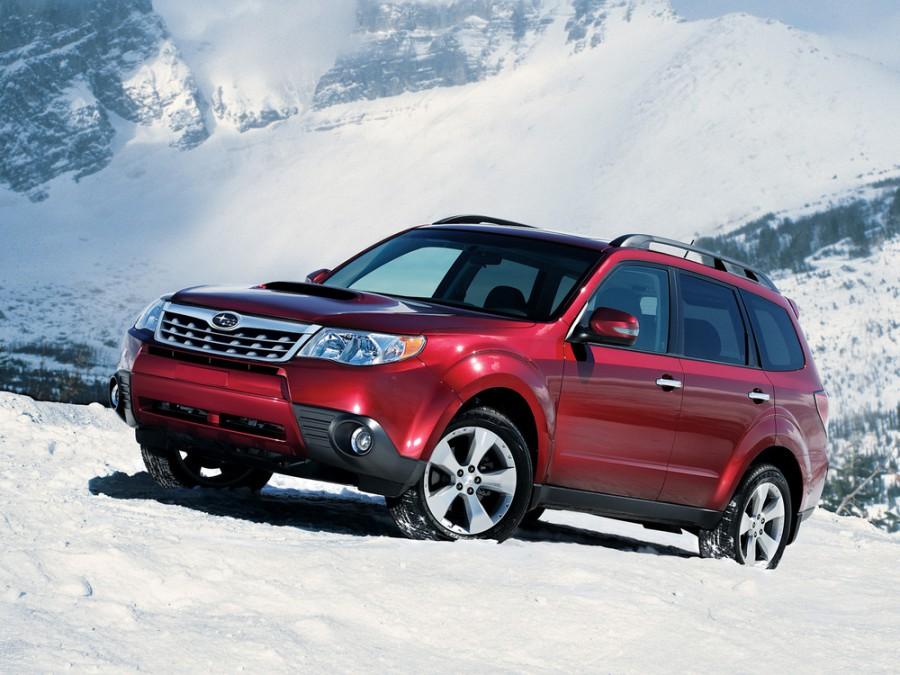 Subaru Forester кроссовер, 2011–2013, 3 поколение [рестайлинг] - отзывы, фото и характеристики на Car.ru