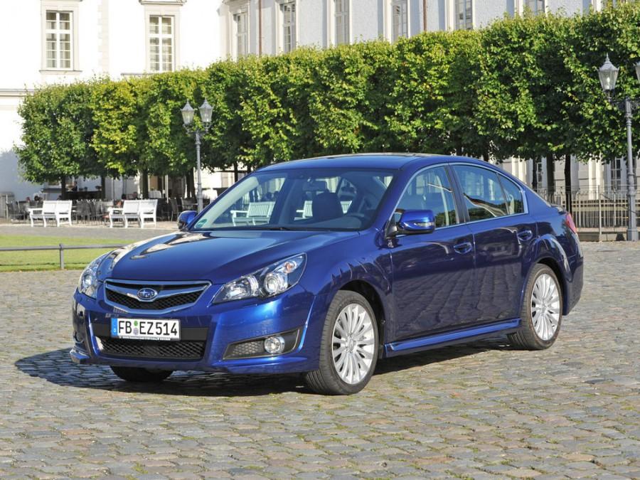 Subaru Legacy седан, 2009–2013, 5 поколение - отзывы, фото и характеристики на Car.ru