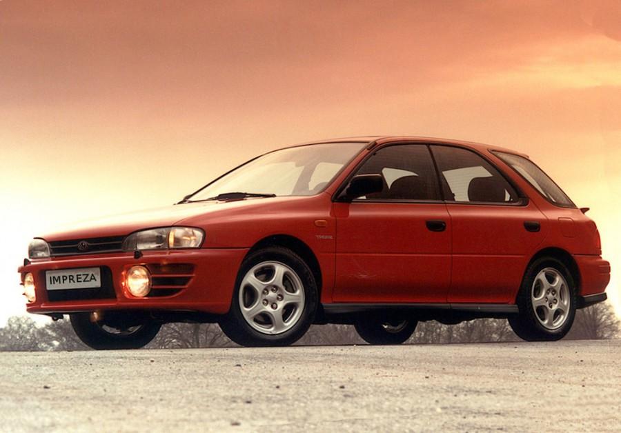Subaru Impreza универсал, 1998–2000, 1 поколение [рестайлинг] - отзывы, фото и характеристики на Car.ru