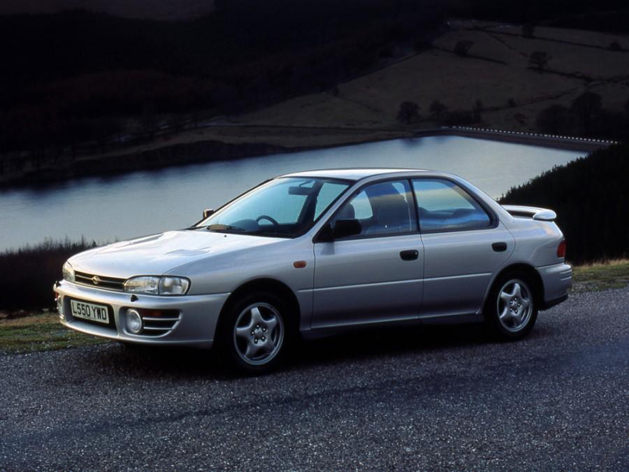 Subaru Impreza седан, 1998–2000, 1 поколение [рестайлинг] - отзывы, фото и характеристики на Car.ru